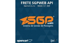 Frete SGPWeb API