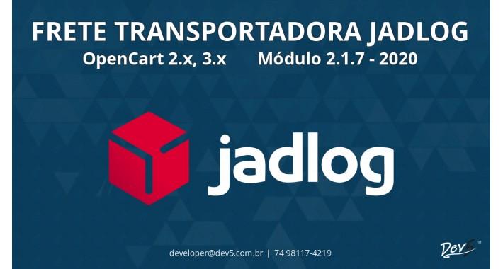 Frete Transportadora Jadlog