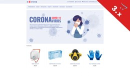 Corona - Health, Medical, Virus - Responsive Tem..