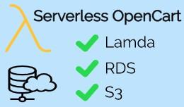 Serverless OpenCart - OpenCart on AWS S3, Lambda..
