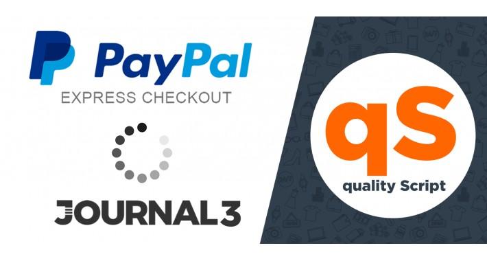 PayPal Express Journal 3 Fix Stuck Confirm Button