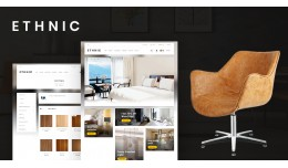Ethnic-Furniture Responsive Opencart 3.x Theme