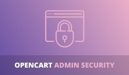 OpenCart Admin Security module - protect your ad..