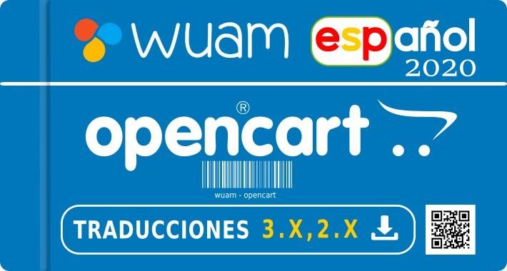 ✔ Spanish opencart 3.0.3.3 - 3.0.3.2 - 3.0.3.1 - 2.X  - Español