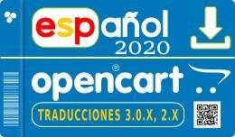 ✔ Spanish opencart 3.0.3.3 - 3.0.3.2 - 3.0.3.1..