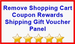 Remove Shopping Cart Coupon Rewards Shipping Gif..