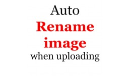 Automatically rename images when uploading