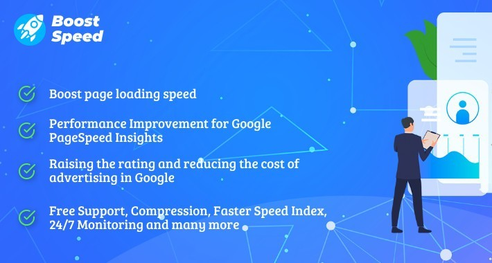 Boostspeed Basic - Speed & SEO (Cache, Minify js & css)