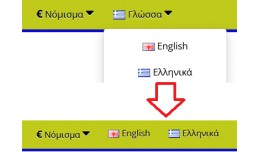 Languages Buttons