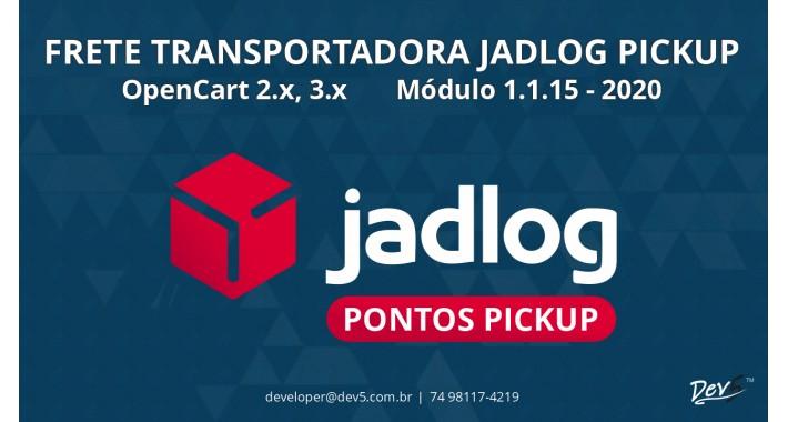 Frete Transportadora Jadlog Pontos Pickup