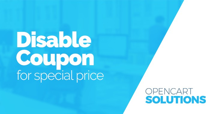 Disable Coupon for special price LITE
