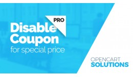 Disable Coupon for special price PRO