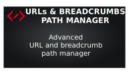 Path Manager - URLs & Breadcrumbs (SEO URLs)