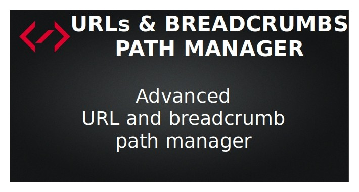 Path Manager - URLs & Breadcrumbs