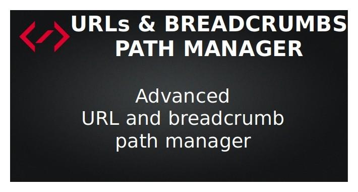 Path Manager - URLs & Breadcrumbs (SEO URLs)