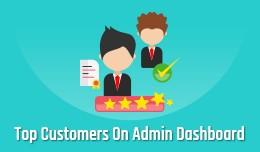 Top Customer On Admin Dashboard