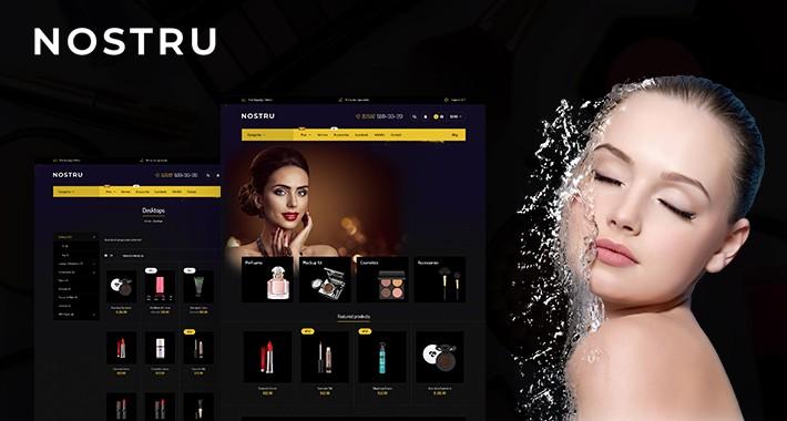 Nostru Cosmetic Responsive Opencart 3.x Theme