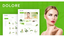 Dolore Cosmetic Responsive Opencart 3.x Theme