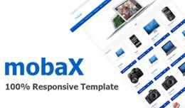 mobaX opencart template