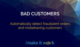 Bad customers - automatically detect fraudulent ..
