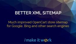Better XML Sitemap generator