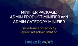 MINIFIER PACKAGE: Hide Admin Product And Categor..