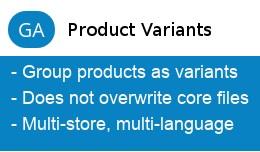 GA Product Variants