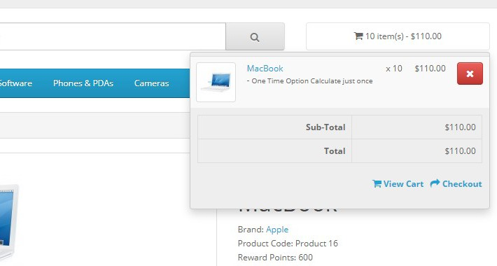 Add Option To Checkout One Time