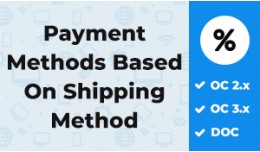 Payment Methods Based On Shipping Method