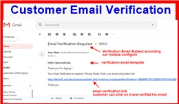 Customer Email Verification