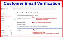 Customer Email Verification