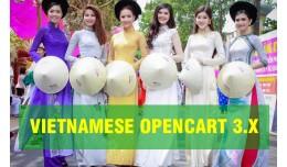 Vietnamese Opencart 3.x