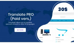 Translation PRO (Paid vers.) - Translate Content..