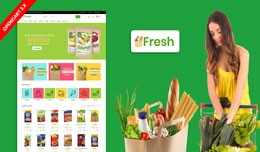 Fresh Grocery Multipurpose Responsive Theme