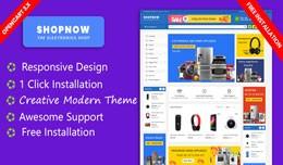 Shopnow Electronics Responsive Theme (Free Insta..