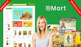 Mart Grocery and organic Responsive Theme (Free ..