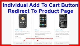 Individual Add To Cart Button Redirect To Produc..