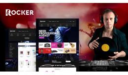 Rocker Audio Multipurpose Responsive Opencart 3...