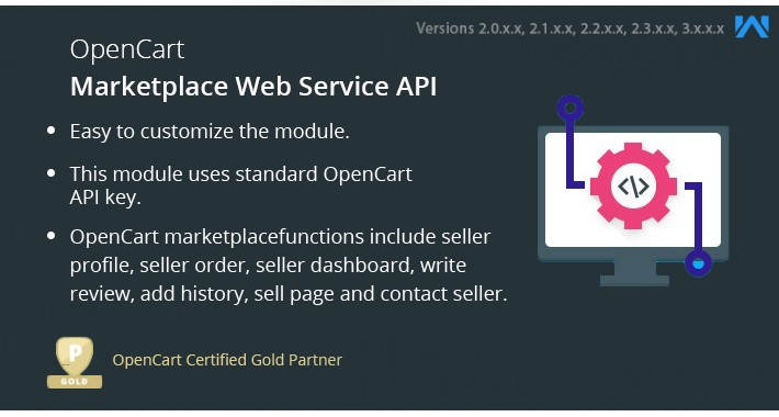 Opencart Multi Vendor Web Services API