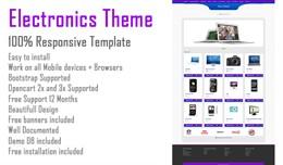 Electronics Opencart Theme