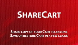ShareCart - Creating and using Shared Carts