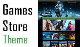 Opencart Games Store Responsive Template