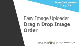 Easy Image Uploader + Drag And Drop Sort Images