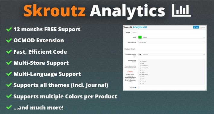 Skroutz Analytics (E-commerce Tracking)
