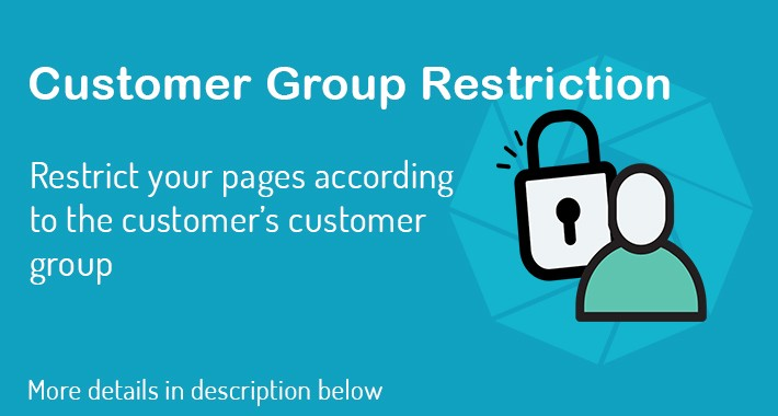 Customer Group Restrictions