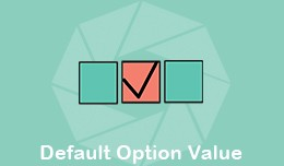 Default Option Value