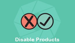 Disable Products