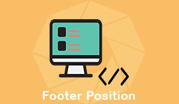 Footer Position