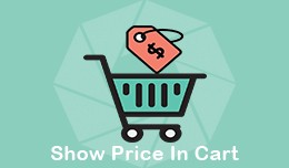 Show Price in Cart