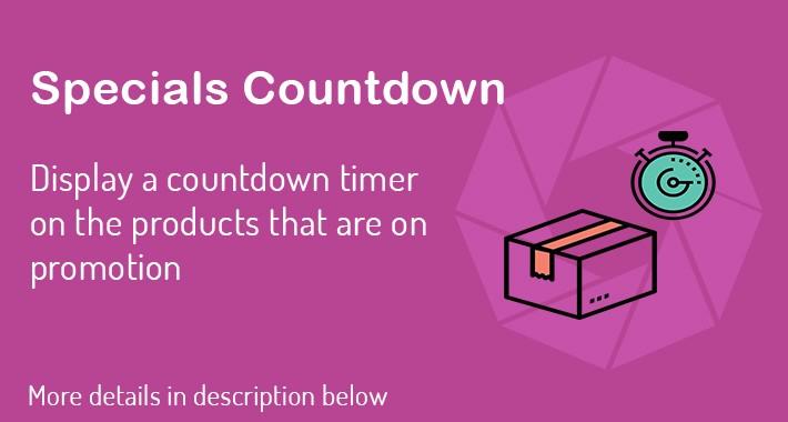 Specials Countdown